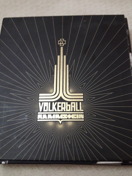Rammstein Volkerball 2dvd+1cd Original Impecable