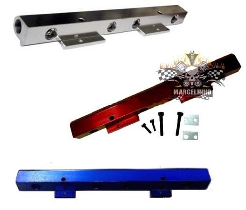 Flauta Combustível Em Alumínio Ap Mi Anodizada