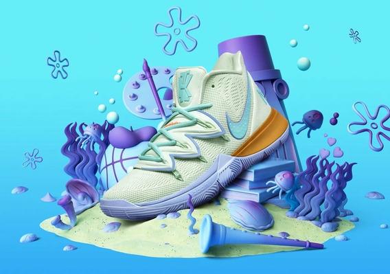 Nike Kyrie 5 Calamardo Tentáculos