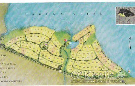 Lote Chacra Quinta Terr Orilla Laguna Vitel, 5 M De Barranca