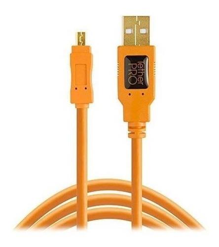 Imagen 1 de 6 de Tether Tools Tetherpro Usb 2.0 A Mini-b Cable 8 Pines, 15