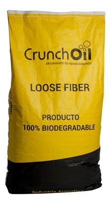 Fibra Absorvente De Óleos E Hidrocarbonetos Crunchoil 10kg