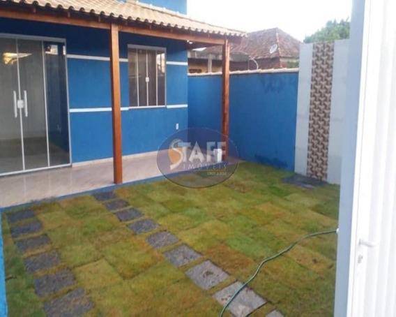Casas 2 Quartos Para Venda Em Cabo Frio / Rj No Bairro Unamar - Ca1020 - 67806335