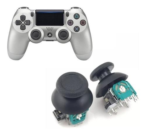 2x Analogo + Capuchas Joystick Control Ps4 / Slim Repuesto