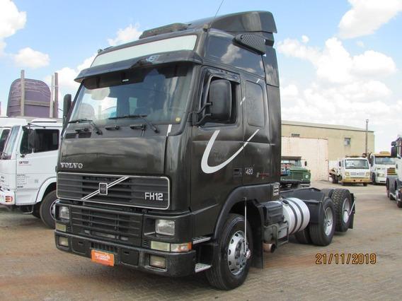Volvo Fh 420 6x2 Teto Alto - Top Class *raridade* Unico Dono
