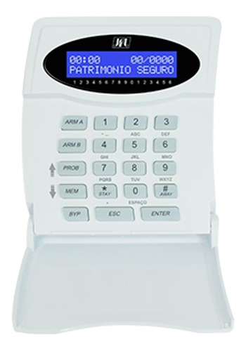 Imagem 1 de 2 de Teclado De Alarme Jfl Tec 400 Duo