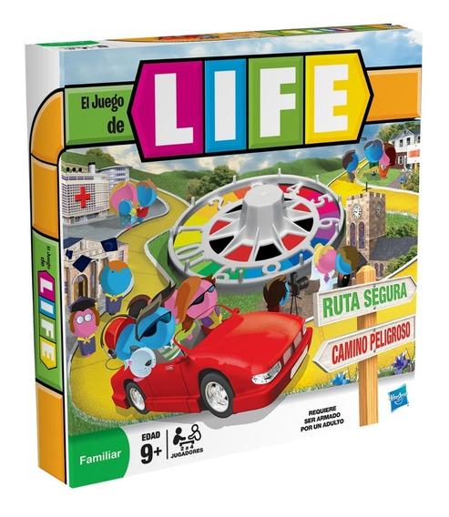 Juego De Mesa Life El Juego De La Vida Hasbro 30136u