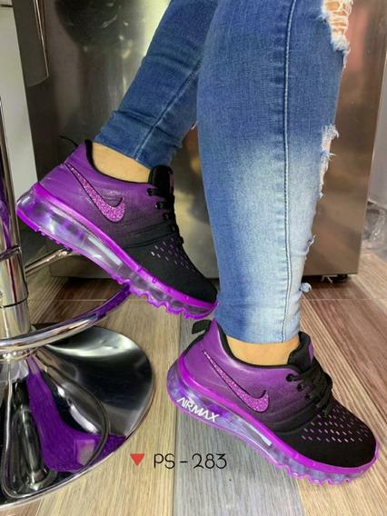Tenis Para Dama. Calzado Deportivo Para Mujer Hs