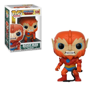 Funko Pop #539 - Beast Man Motuc He-man - 100% Original