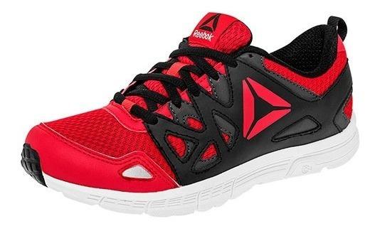 Tenis Urbano P/joven Reebok Bs7099 Rojo-negro Pi19