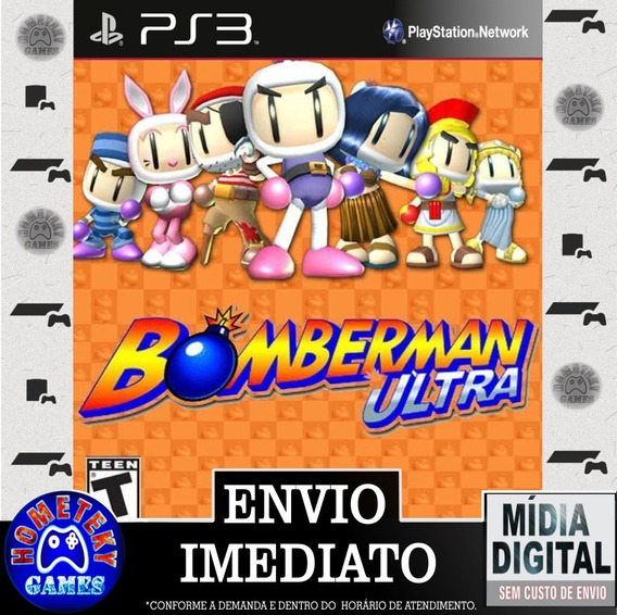 Bomberman Ultra - Psn Ps3 Play 3 Pronta Entrega