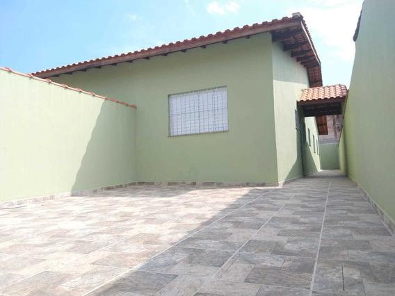 Casa Com 3 Dormitórios Em Mongaguá Ref: 7804 C