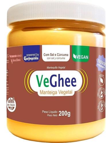 Imagem 1 de 1 de Veghee Manteiga Vegetal Com Curcuma E Sal 200g