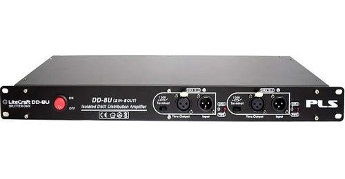 Mezclador Divisor Splitter Dd-8u 8 Ch Aislamiento Óptico P