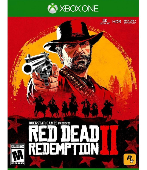 Red Dead Redemption 2 - Xbox One Lacrado
