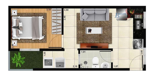 Imagem 1 de 6 de Studio Com 1 Dormitório À Venda, 30 M² Por R$ 170.000,00 - Artur Alvim - São Paulo/sp - St0023