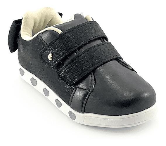 Tênis Infantil Pampili Sneaker Luz Cor Preto