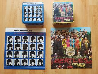 2 Rompecabezas Beatles Usados Completos Doble Vista Del 2002