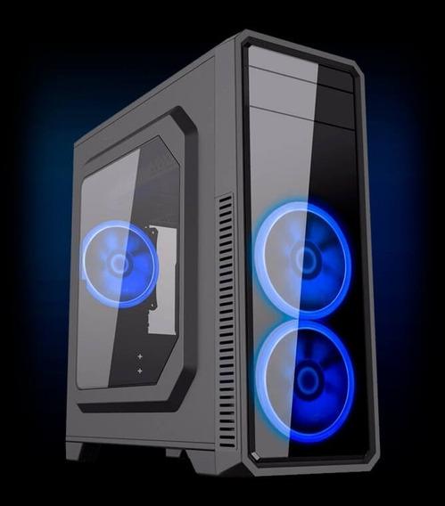 Cpu Gamer /core I5/ 8gb/500gb/ Gtx1050 4gb Ti/ Wifi/ Led/