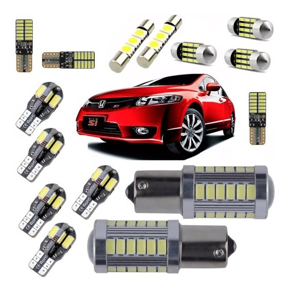Kit Lampadas Led Premium New Civic 06 07 2008 2009 2010 2011