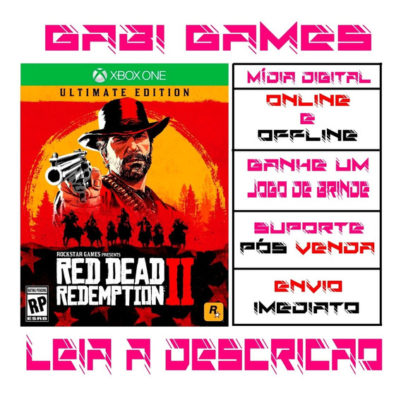Red Dead Redemption 2 Ultimate Edition Xbox One Offline