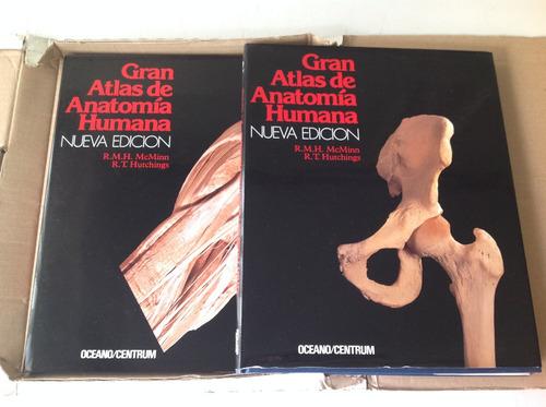 Gran Atlas De Anatomía Humana - Oceano Centrum 2 Tomos Caja