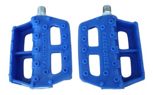 Pedal Caloi Cross Azul Ducor Original