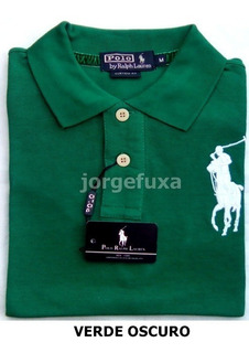 Bellas Chemises Polo Big Pony Caballeros - Tela Pique