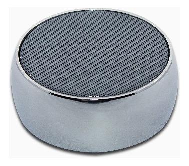 Caixa Som Bluetooth 3w Alumínio Prata