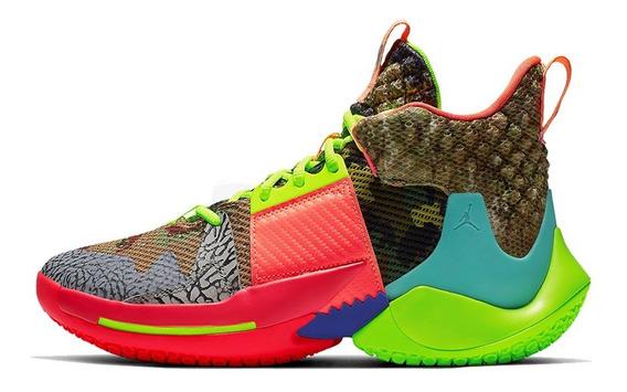 Tenis Zapatillas Jordan Why Not Zero Multicolor