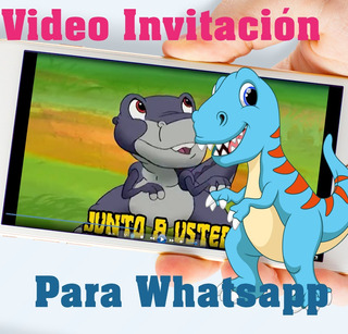 Tarjetas De Invitacion Dinosaurios Recuerdos Cotillón Y