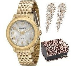 Relógio Mondaine Feminino Dourado Analógico 94772lpmvde4