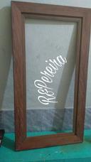Faço Molduras De Quadros E Espelhos Sob Encomenda