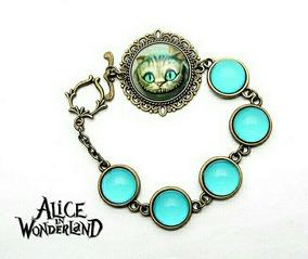 Pulseira Gato Cheshire Alice No País Das Maravilhas