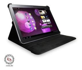 Capa Case Couro Giratória 360º 8.9 Galaxy Tab P7300 Preta