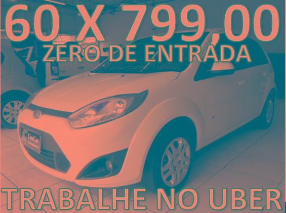 Ford Fiesta 1.6 Flex Zero De Entrada + 60 X 799,00 Fixas