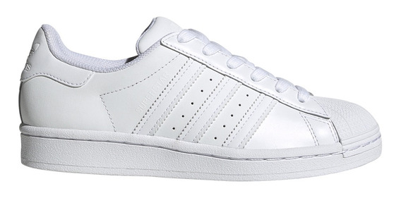 Zapatillas adidas Originals Moda Superstar J Bl/bl