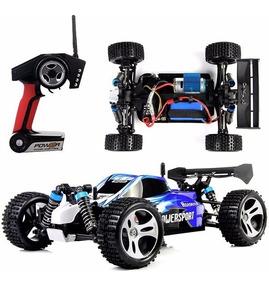 Carrinho Controle Remoto Buggy Wltoys A959 +bateria Extra