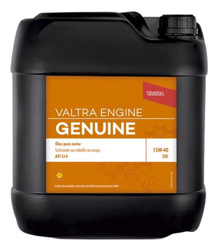 Oleo Lubrificante Para Trator Valtra Engine Genuine 15w-40