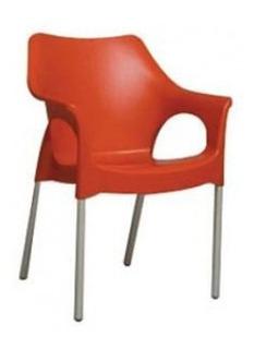 Sillon Plastico Zafiro Apilable Reforzado De Diseño