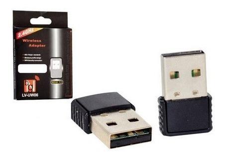 Adaptador Mini Wifi Nano Usb 2.0 802.11n 950mb