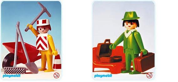 Lote 6105- Déc.70 Set 3313 E 3321 Incompleto - Playmobil