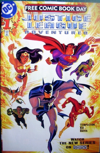 Imagen 1 de 4 de Liga Justicia Numero Uno Comic Americano