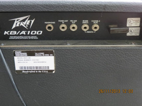 Caixa Amplificada Guitarra Peavey Kb-a100 P Teclado E Violão