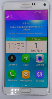 Samsung Galaxy Note 4 N910 32gb Branco Original Semi Novo