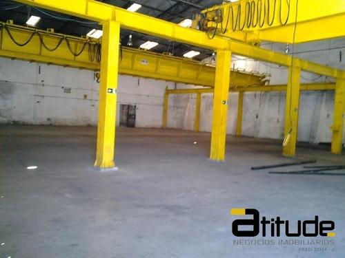 Imagem 1 de 7 de Galpão Industrial Para Locação Em Barueri 2313 M2 - 1611