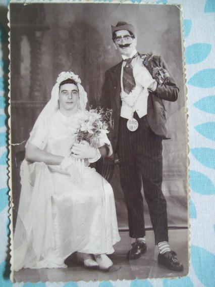 Fotografìa Antigua Còmica .tarjeta Postal Gevaert.circa 1935
