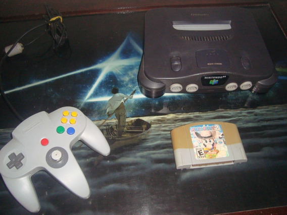 Nintendo 64 Cotrole Original E Mario Party 2 Original