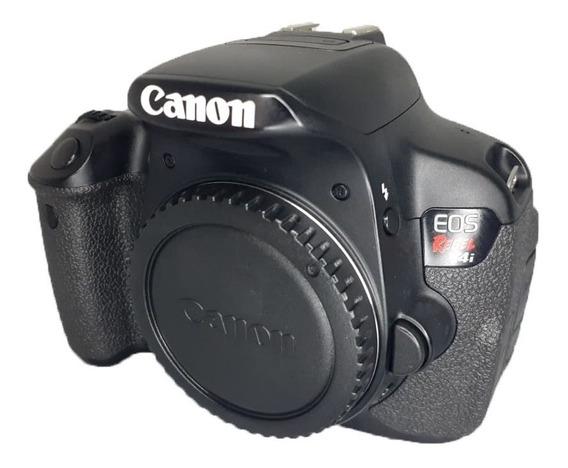 Câmera Canon T4i Somente Corpo + Carregador + Alça Seminova