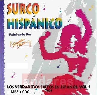 Disfruta Karaoke Sound Choice Surco Hispánico (12 Discos)